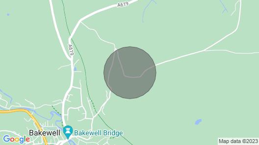 Edensor Cottage, Bakewell Peak District Map
