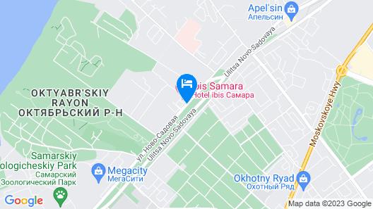 ibis Samara Map
