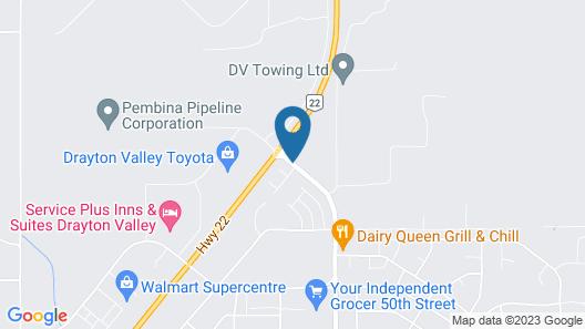 Foxwood Inn & Suites Map