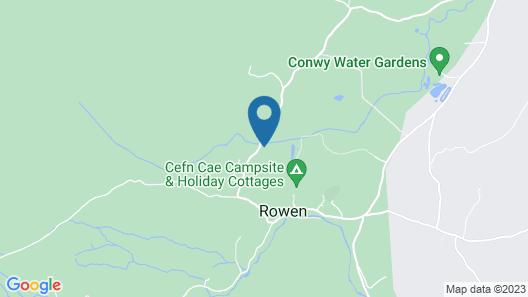 Coed Mawr Hall Map