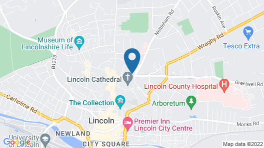 The Lincoln Hotel, Sure Hotel Collection by Best Western Map