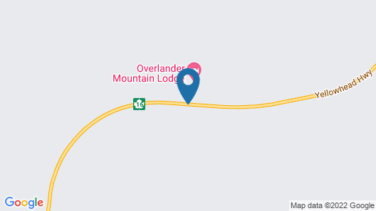 Overlander Mountain Lodge Map