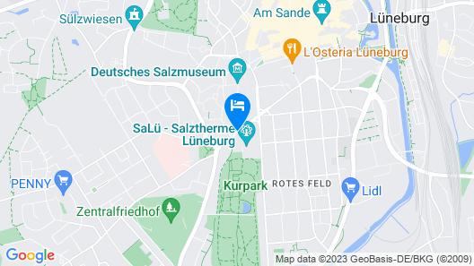 Seminaris Hotel Lüneburg Map