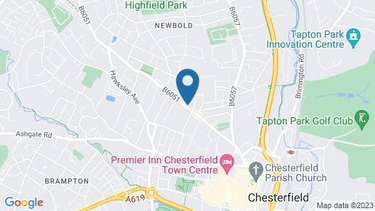 Buckingham's Hotel Map