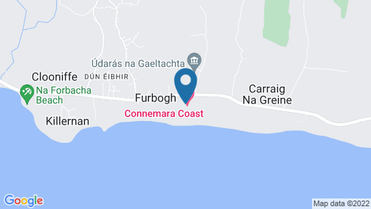 Connemara Coast Hotel Map