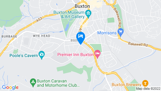 Compton Guest House Map