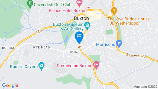 The Queens Head Hotel Map