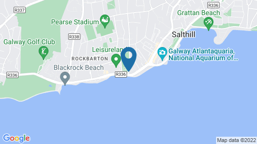 Galway Bay Sea View Apartments Map