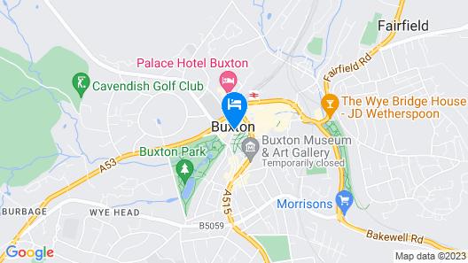 Ensana Buxton Crecent Map