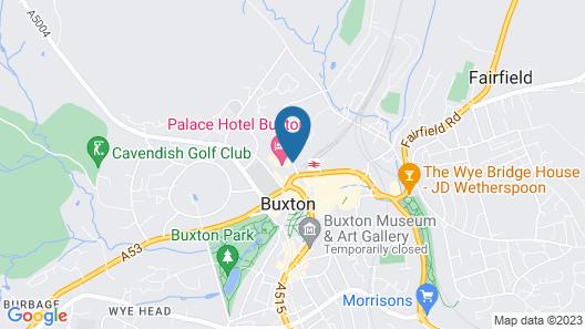 Britannia Palace Hotel Buxton & Spa Map