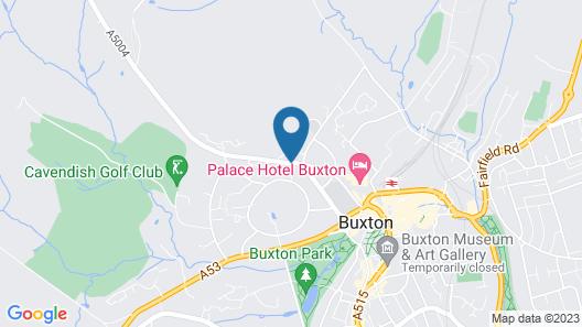 Best Western Plus Buxton Lee Wood Hotel Map