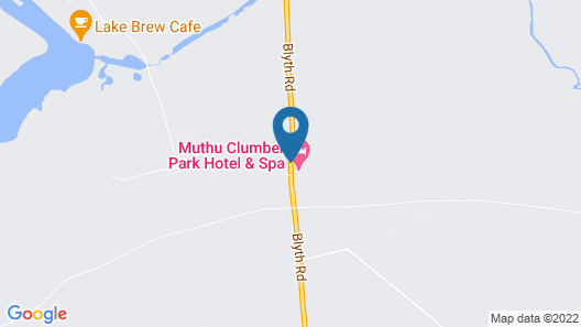 Muthu Clumber Park Hotel and Spa Map