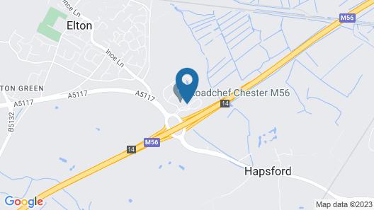 Days Inn by Wyndham Chester East Map