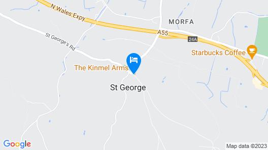 The Kinmel Arms Map