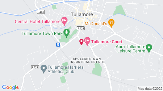 Tullamore Court Hotel Map