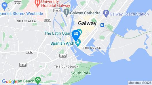 Jurys Inn Galway Map
