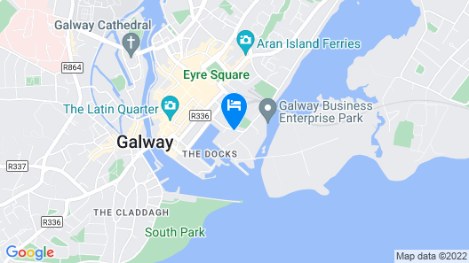 Harbour Hotel Map