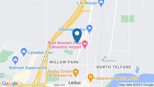 Travelodge by Wyndham Edmonton Airport Map