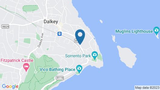 Spectacular Mediterranean Villa on the Irish Sea Map