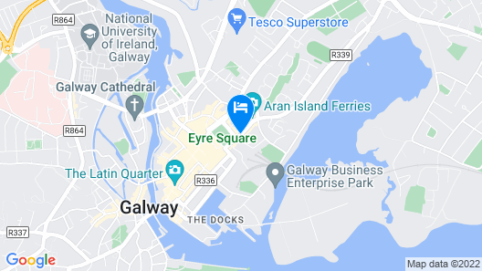 Eyre Square Hotel Map