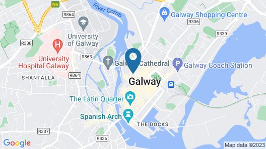 City Centre Snug Apartments Map