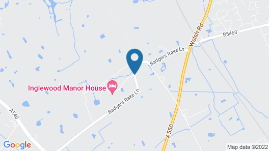 Inglewood Manor Map