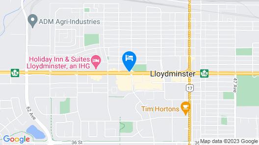 Days Hotel & Suites by Wyndham Lloydminster Map
