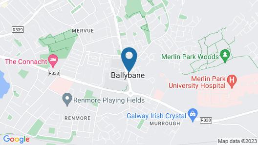 10 Ballybane Map