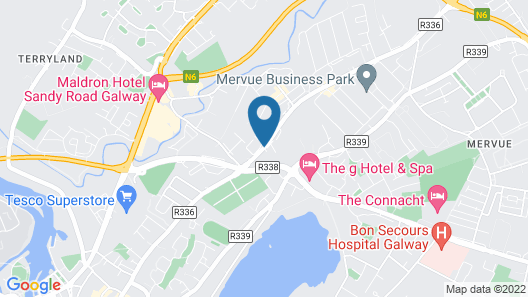 Travelodge Galway Map