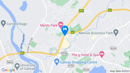 Maldron Hotel Sandy Road Galway Map