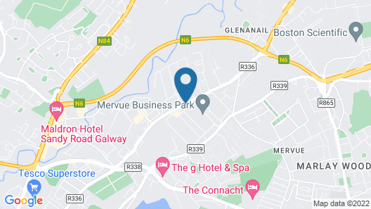 Teach na Coiribe Map