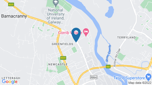 Corrib Haven Guesthouse Map