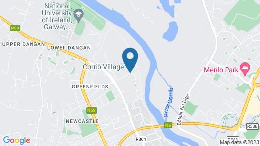 Corrib Village University Campus Accommodation Map