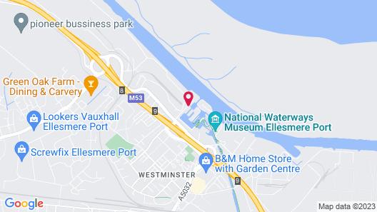 Holiday Inn Ellesmere Port Map