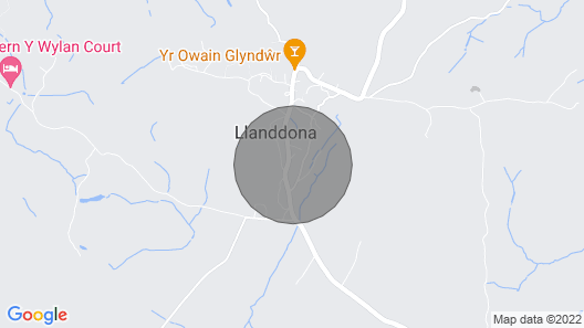 Llwyn Collen - a Bungalow That Sleeps 2 Guests in 1 Bedroom Map