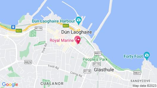 The Royal Marine Hotel Map