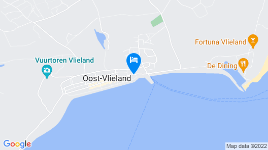 Loods Hotel Vlieland Map