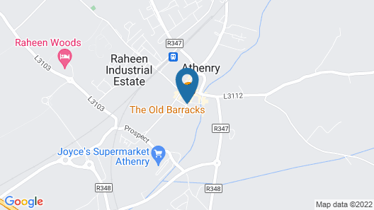 New Park Hotel Athenry Map