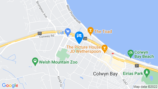 West Point Hotel Bed & Breakfast Map