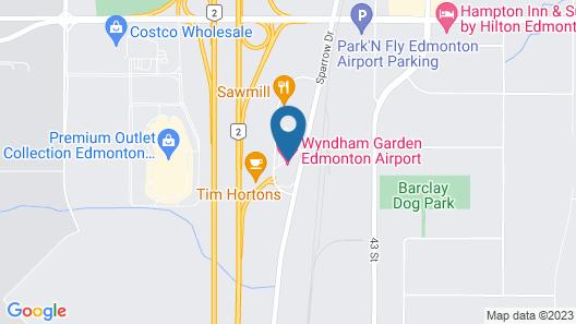 Wyndham Garden Edmonton Airport Map