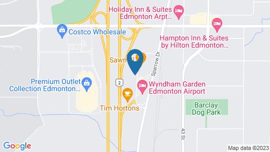 Western Budget Motel 1 Map