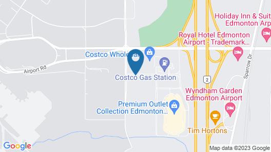 Fairfield by Marriott Edmonton International Airport Map