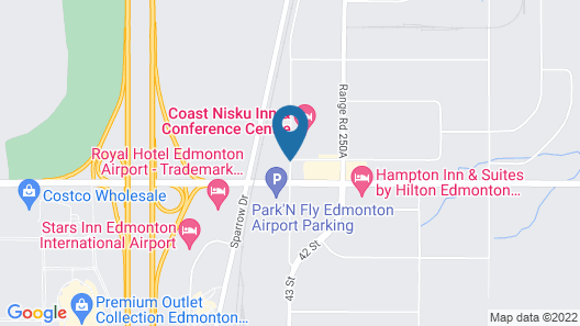 Holiday Inn Hotel & Suites Edmonton Airport & Conference Ctr Map