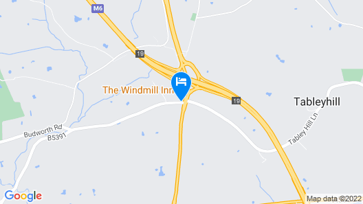 The Windmill at Tabley Map