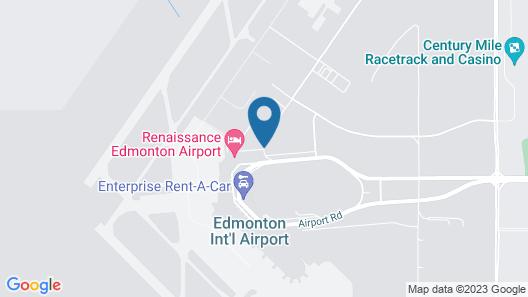Renaissance Edmonton Airport Hotel Map