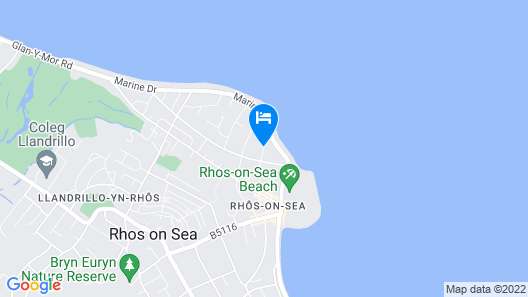 Beachmount Holiday Apartments Map
