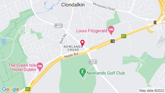 Maldron Hotel Newlands Cross Map