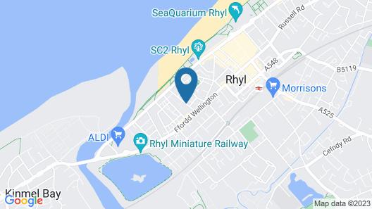 Berwyn Guest House Map