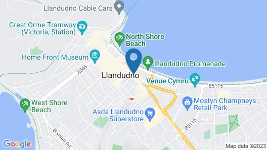 The New Alexandra Hotel Map