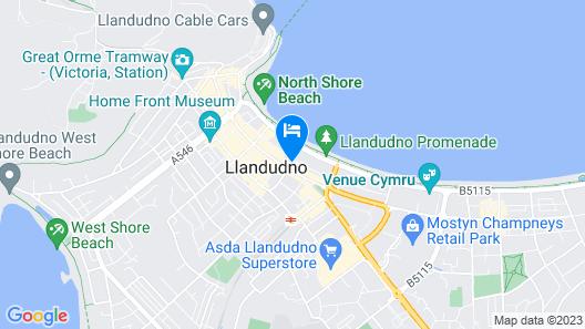 The Alexandra Hotel Map
